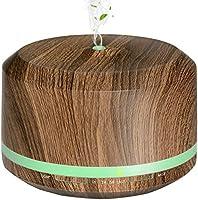 Diffusers for Essential Oil 2 Pack, Mogomiten 450ML Wood Grain Essential Oil Diffuser Ultrasonic Aroma Diffusers...