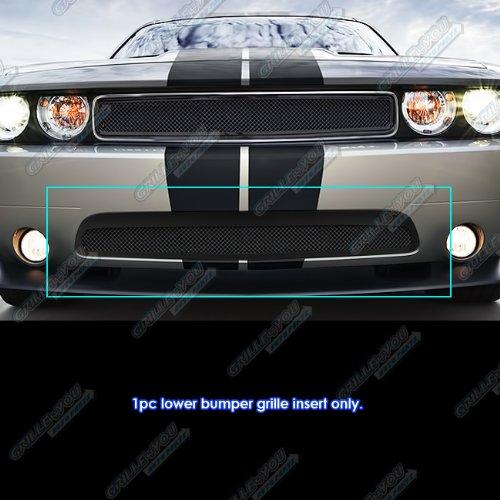 APS D76918H Black Powder Coated Grille Bolt Over for select Dodge Challenger Models