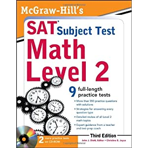 McGraw-Hill's SAT Subject Test Math Level 2 With CD-ROM, 3rd Edition (McGraw-Hill's SAT Math Level 2 (W/CD)) (Paperback)