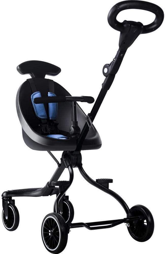 Producto del cochecito de bebé del cochecito de niño del carro de bebé plegable Cochecito Fold ligero portátil plegable carro de bebé del cochecito en un avión Cuatro ruedas jilisay