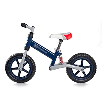 JianMeiHome Bicicleta para niños Equilibrado Bicicleta Amortiguador Rueda Doble sin Pedal 3-6 de Edad: Amazon.es: Hogar