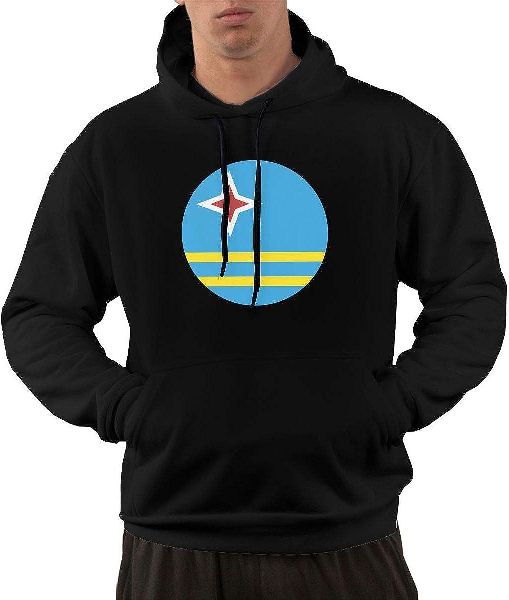 Aruba Flag Hoodie Mens Long Sleeve T-Shirt Hoodie