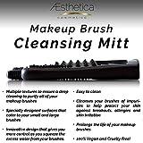 Aesthetica Cosmetics Makeup Brush Cleansing Mitt