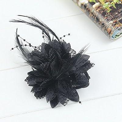 """KHSKX-La Mariée Coiffe _ Laine Tissu Main Danse Bague Fleur Promise Perles """"Ligne Coiffe Les Cheveux"""