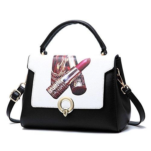 Moda E Magnética Impresión Ms Bolsos De Hebilla Bag Bolsos Bag Hombro La De Hand Elegante Señora Crossbody JPFCAK vXOpTxnqv