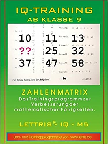 IQ-Training Mathematik ab Klasse 9: Arbeitsblätter auf Datenträger ...