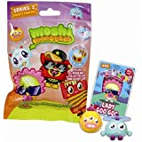 Moshi Monsters Moshlings Toys Series 2 Mini Figure 2Pack Includes 1 Virtual Prize Code!