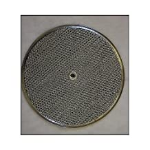 BIN Replacement For Nutone Round Hood Vent Aluminum Mesh Filter 27340-900