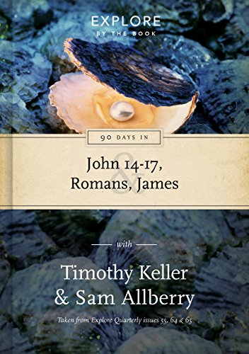 90 Days in John 14-17, Romans & James: Wisdom for the Christian life cover