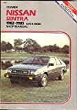 Nissan Sentra and Pulsar Gas and Diesel Shop Manual, 1982-1985, Alan Ahlstrand, 0892873868