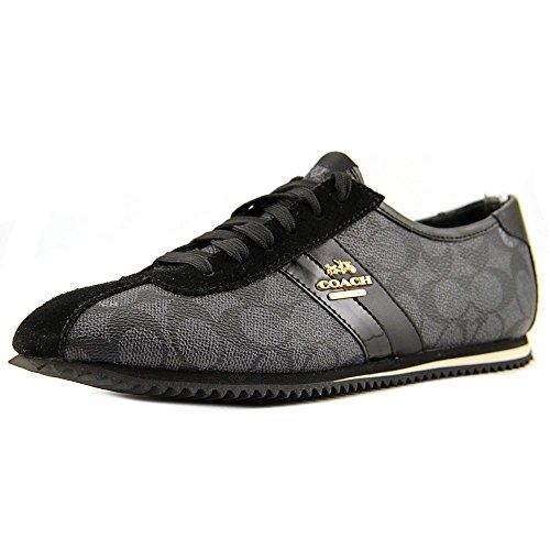 Coach Ivy Women's Fashion Sneakers (5 B(M) US, Black)
