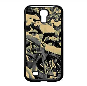 Snowy Bicycles Watercolor style Cover Samsung Galaxy S4 I9500 Case