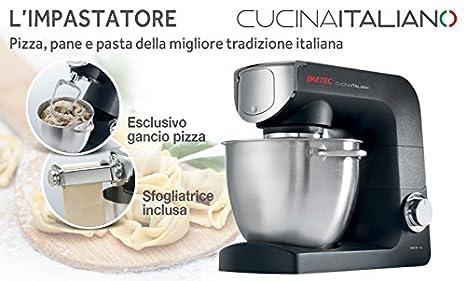 Imetec accesorio spaghetti-machine para modelo Zero-Glu KM 1500 y para Cucina Italiano KM 2000: Amazon.es: Hogar