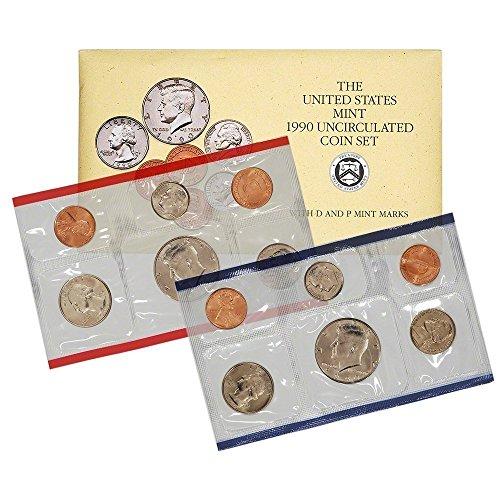 1990 Various Mint Marks US Uncirculated P&D Mint Set Original Uncirculated