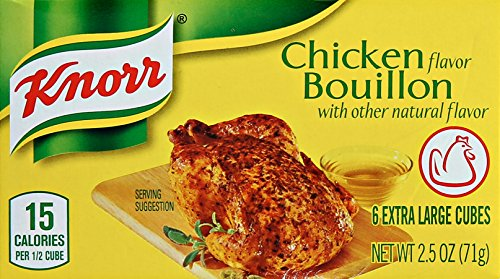 Knorr Cube Bouillon, Chicken 2.5 oz, 6 - Boullion Cubes