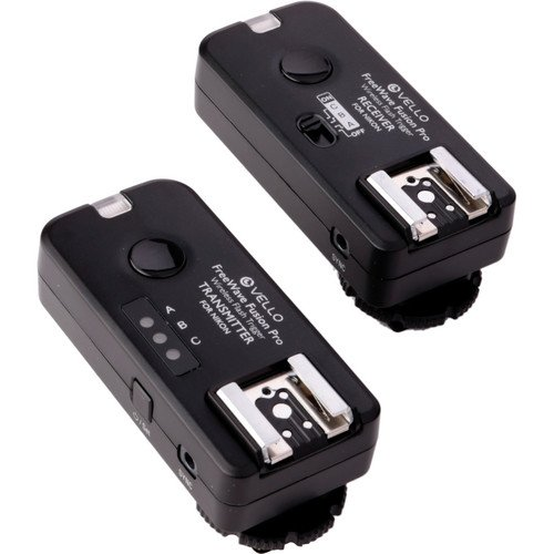 Vello FreeWave Fusion Pro Kit with 2 Receivers for Nikon by VELLO (Image #1)