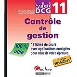 Carrés DCG 11 - Contrôle de gestion 2015-2016, 4ème Ed.