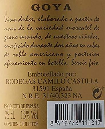 Goya Moscatel de 15º - 75 cl