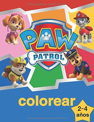 Paw Patrol Colorear La Patrulla Canina Libro Para Colorear Para Ninos De 2 A 4 Anos Amazon Co Uk Camg Natalya Books