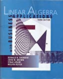 Linear Algebra Custom Edition (With Business Applications 3rd. Ed.), Unknown Author, 0072504714