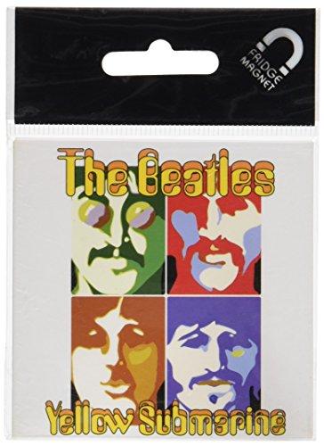 The Beatles Fridge Magnet  Yellow Submarine Sea Of Science