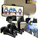 2 Pack Manfiter 3-in-1 Universal Vehicle Car Headrest