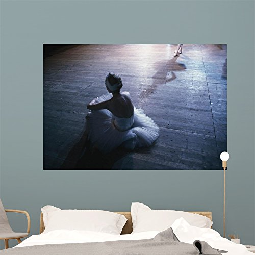 Ballet Rehearsal St Petersburg Wall Mural by Wallmonkeys Peel and Stick Graphic (60 in W x 41 in H) (Costume Ballet Russe)
