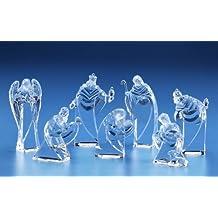 Arced Miniature Nativity Figures