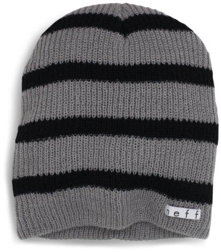 Neff Daily Stripe - Gorro gris / negro (Gray)