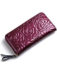 Tapp Collections™ Genuine Leather Wallet with Design Pattern