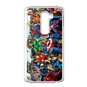 LG G2 Phone Case for Spiderman Thor Hulk Iron Man pattern design