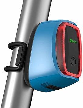 Luces Traseras Bicicleta, Recargable USB Luces traseras ...