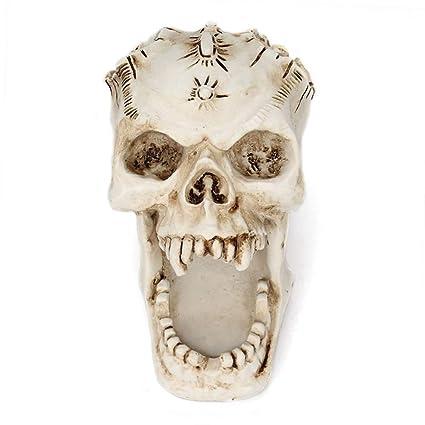Amazon.com: Inveroo Resin Craft Skull Head Jewellery Box ...