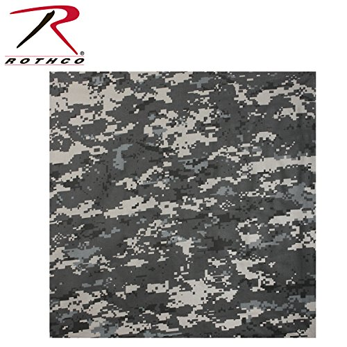 Rothco Bandana, Subdued Urban Digital Camo, 27'' x 27''