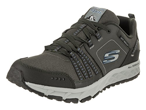 Skechers Mens Ontsnappingsplan Oxford Tin