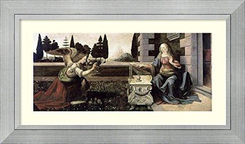 The Annunciation Leonardo Da Vinci - 9
