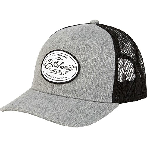 Billabong Men's Walled Trucker, Athletic Grey, (Billabong Trucker Hat)