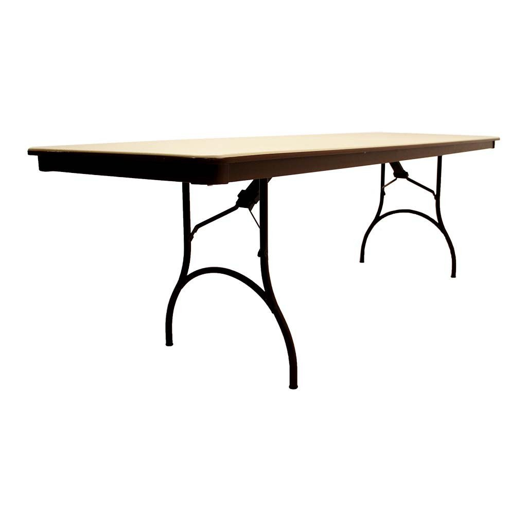 MityLite 30 x96 Rectangular ABS Folding Table – Arrives Fully Assembled