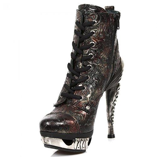 Nuovi Stivali Da Roccia M.mag016-s6 Gotico Hardrock Punk Damen Stiefelette Marciume