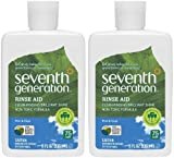 Seventh Generation Dishwasher Rinse Aid - 8 oz - 2 pk
