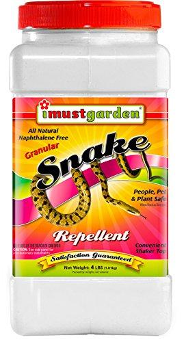 Natural Snake Repellent - I Must Garden Snake Repellent - 4lb Granular