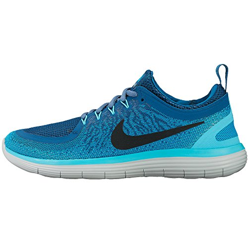 new concept 598ca 2888d Womens Nike Free RN Distance 2 Running Shoe BLUE LAGOON/BLACK-INDUSTRIAL  BLUE 8.5