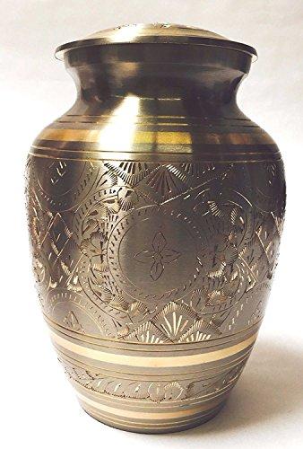 Bogati Classic Platinum Gold Urn – Small