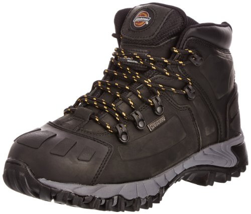 Dickies Unisex Medway Super Steel Toe-cap Safety S3 Boot / Workwear (12.5 US) (Black)