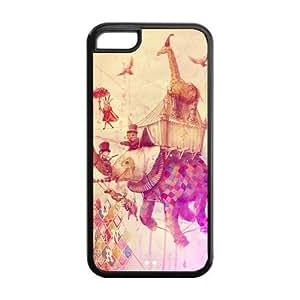 Godstore Elephant Design IPHONE 5C Best Rubber Cover Case