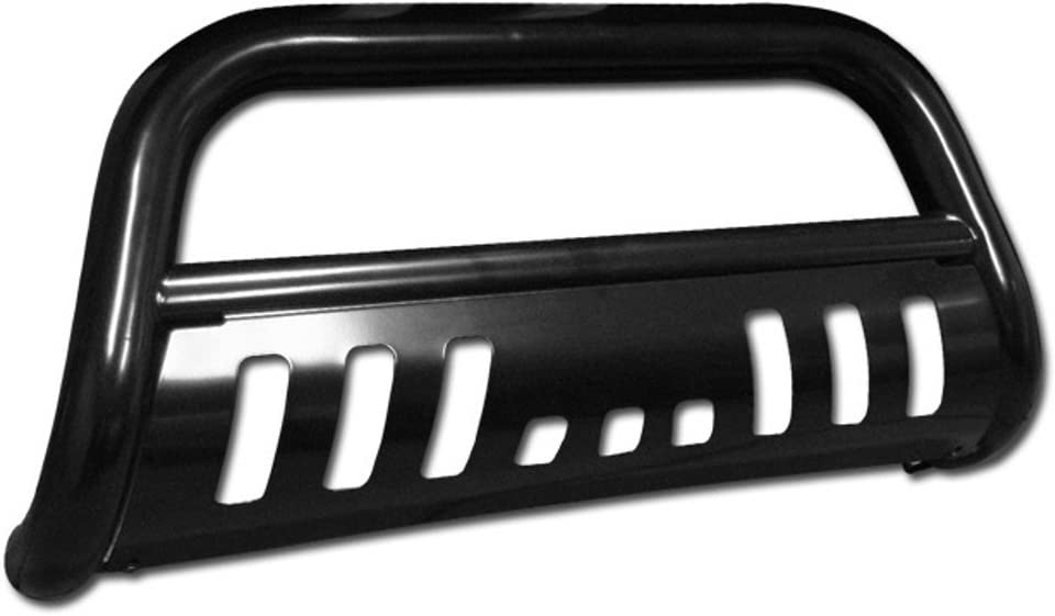 VXMOTOR Black Front Bumper Bull Bar Guard for 2001-2004 Nissan Frontier All Models