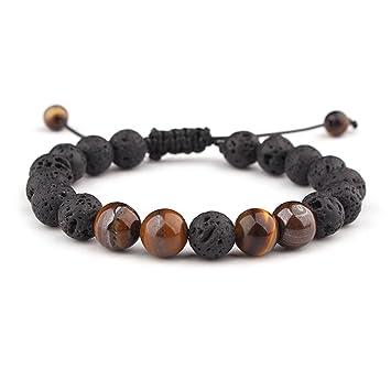 Amazon.com: Ajustable piedra de lava aceite esencial difusor ...