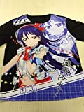 Love live! Full graphic T shirt black mesh area size (l) Sonoda UMI we are now in is ver...