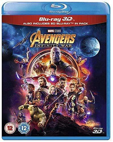 Avengers Infinity War [Blu-ray 3D] [2018] [Region Free] -