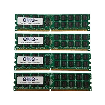 16Gb (4X4Gb) Memory Ram Compatible with Dell Poweredge T300